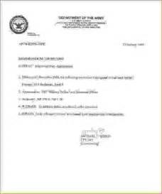 Memorandum for record template memo formats