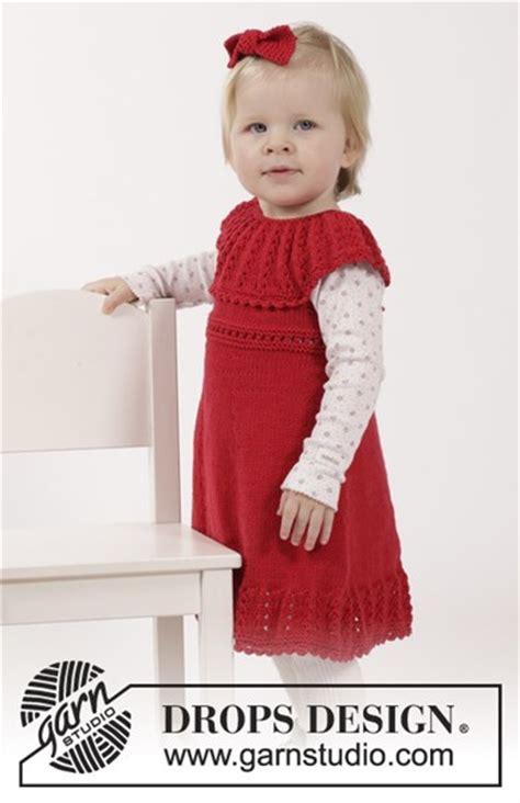 baby jurk breien patroon breipatroon jurkje