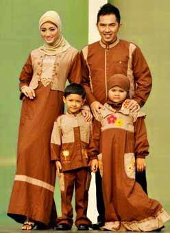 Model Baju Muslim Gamis Terbaru Dan Modern Lk Pikura Kemeja 35 desain baju muslim keluarga seragam modern terbaru