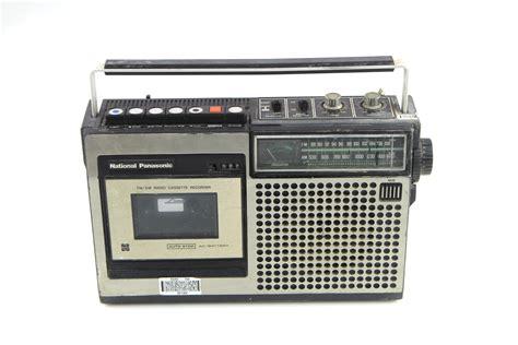 radio cassette vintage national panasonic rq 542s fm am radio cassette