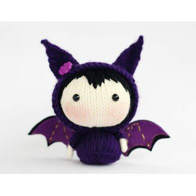doll bat bat doll knitting pattern by denizastoysjoys