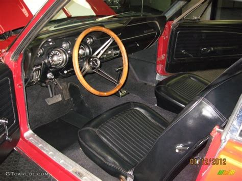 1968 ford mustang california special coupe interior color