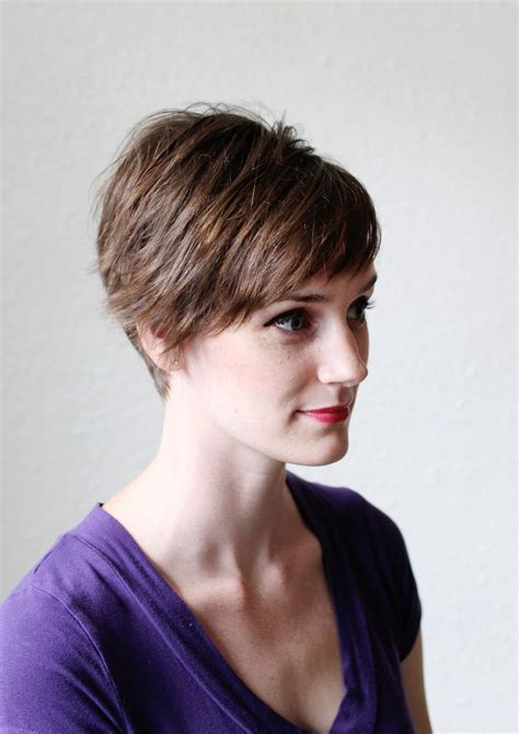 3 Ways To Style A Pixie Cut ? A Beautiful Mess