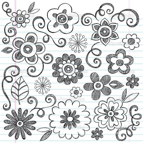doodle a flower the same by a customized doodles flowers supplies many up