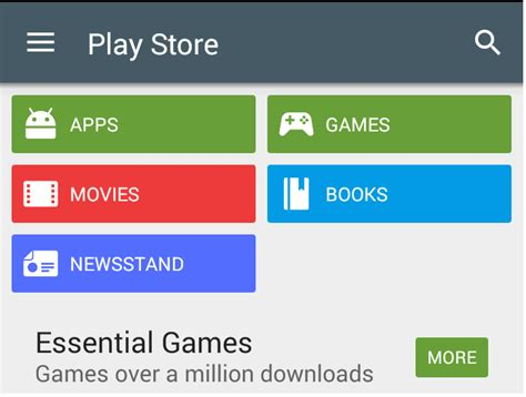 android creating buttons like in play store app ui with