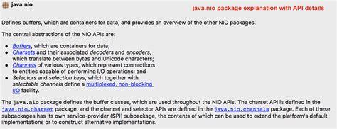 tutorial java nio java nio non blocking i o with server client exle