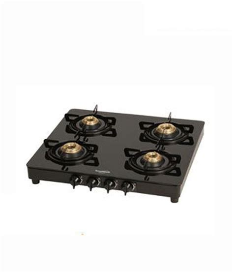 Hob Cooktop Sunflame 4 Burner Crystal Gas Cooktop Price In India Buy