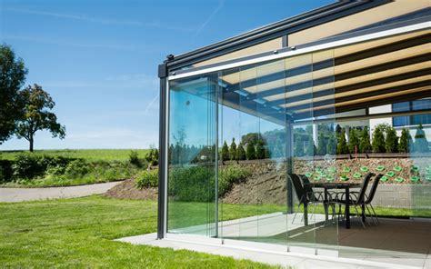 terrasse glasdach glasdach