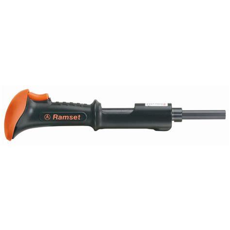 Ramset Nail Gun ramset triggershot 0 22 lb caliber powder actuated tool 40066 the home depot