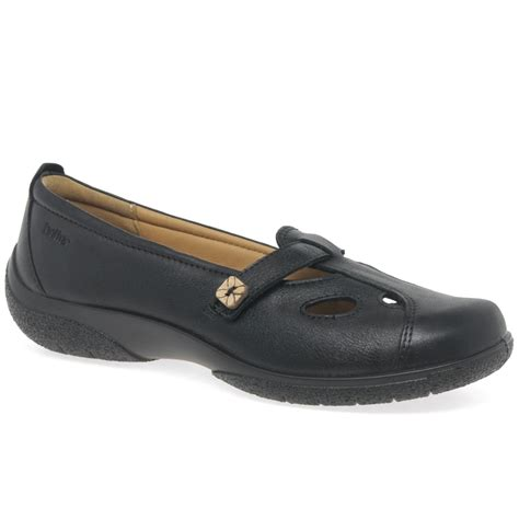 hotter nirvana womens leather casual shoes from