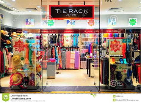 The Tie Rack Stores by Tie Rack Boutique Hong Kong Editorial Image Image 29956180