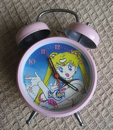 sailor moon collection pink  bell alarm clock