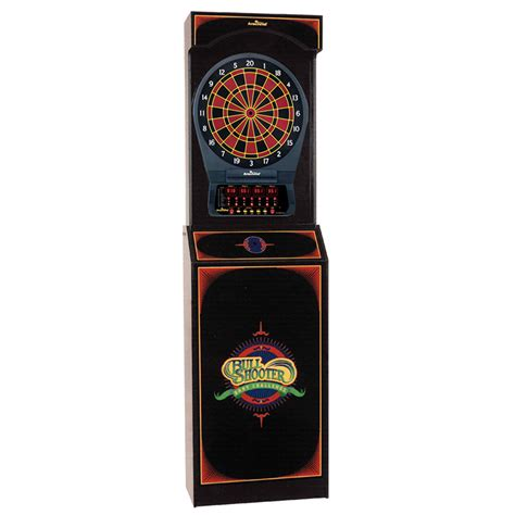 Electronic Dart Boards With Cabinet by Bull Shooter Electronic Dartboard Cabinet