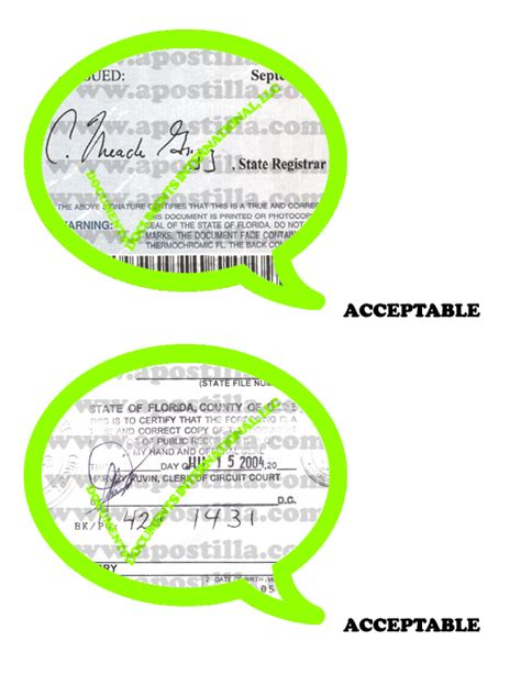 Marriage Records Fl Florida Apostille Apostilla