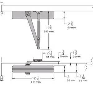 lcn 4011 template lcn 1461 surface mount door closer images frompo