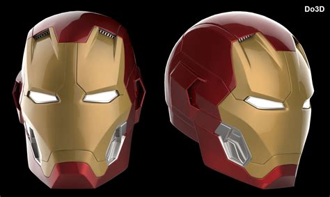 iron man helmet design 3d printable iron man mark xlv helmet model mk 45 from