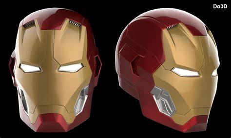 printable ultron mask 3d printable iron man mark xlv helmet model mk 45 from