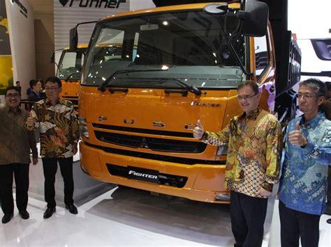 mitsubishi truck indonesia mitsubishi fuso berambisi dominan di pasar truk indonesia