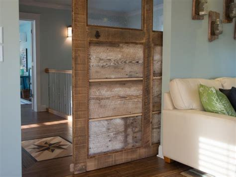 interior holz trim ideen how to build a reclaimed wood sliding door how tos diy