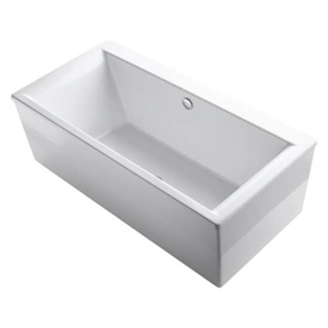 ferguson bathtubs k6366 0 stargaze 72 quot x 36 quot soaking tub white at shop