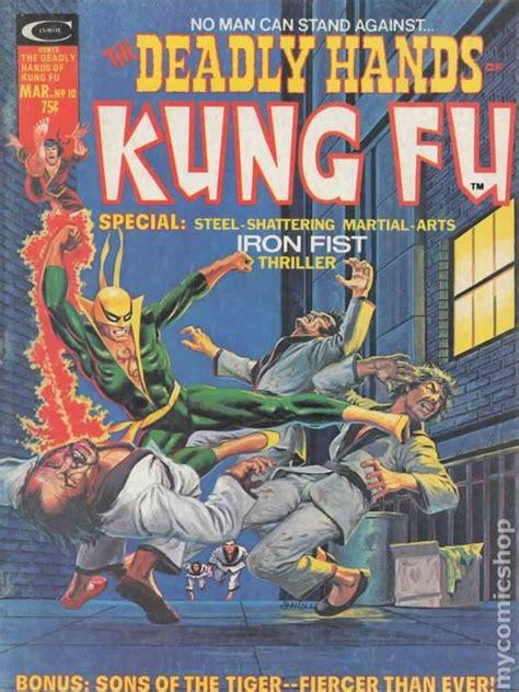 deadly hands of kung deadly hands of kung fu 1974 magazine comic books