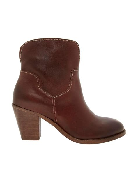 cognac boots hudson h by hudson brock cognac heeled ankle