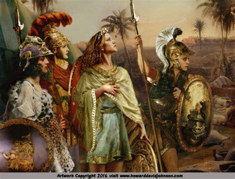 amazon mythology new units no king amazonians