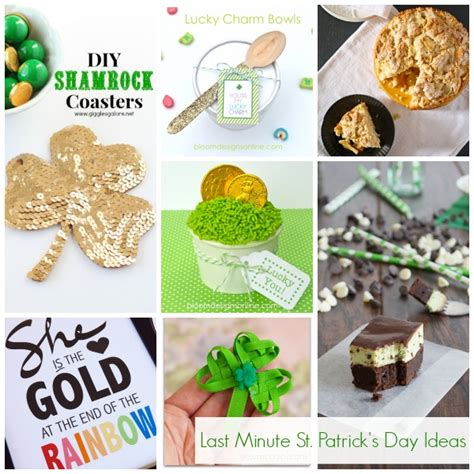 Last Day For Christmas Decorations Show Tell Last Minute St Patrick S Day Ideas Tauni Co