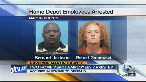 2 home depot employee arrested in stuart