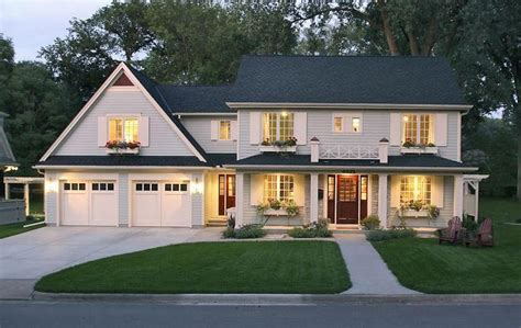 this home received a lift by adding a two story
