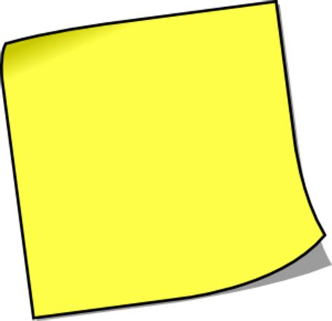 post it note free images at clker vector clip royalty free domain