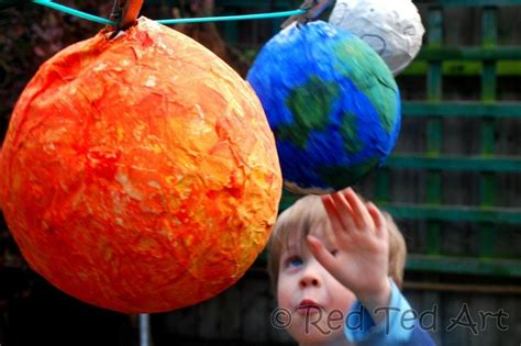 How To Make Paper Mache Planets - paper mache planets page 2 pics about space