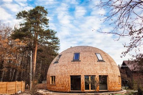 geodome house gorgeous russian dome home of the future withstands