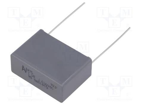 kemet resistors r75pr41004030j kemet capacitor polypropylene tme electronic components