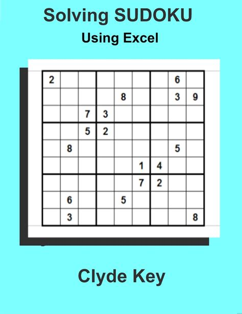 sudoku printable excel smashwords solving sudoku using excel a book by clyde key