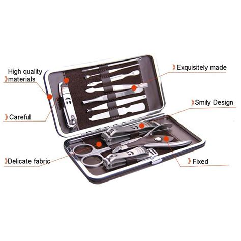 Manicure Set Souvenir manicure pedicure nail care set 12 cutter cuticle