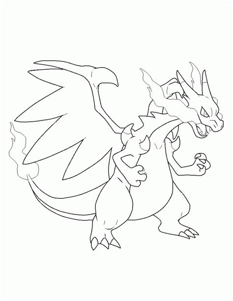 mega coloring pages mega charizard x coloring page coloring home