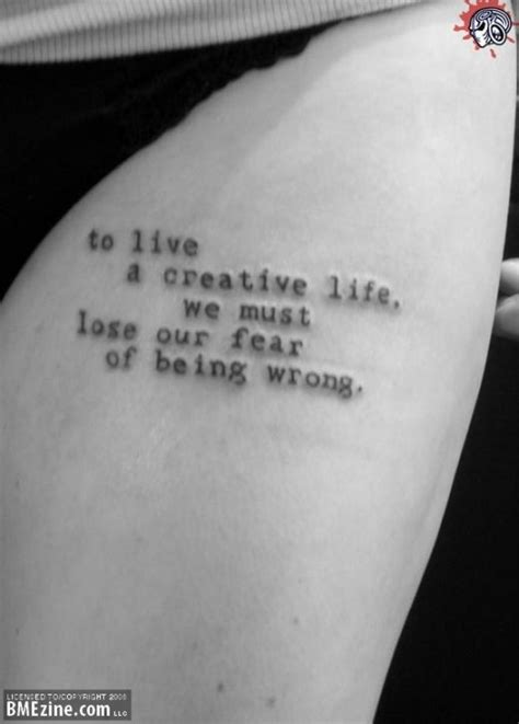 tattoo quotes about living life ideas for life quote tattoos tattoo ideas mag