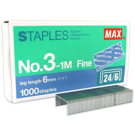max staples no 3 1m