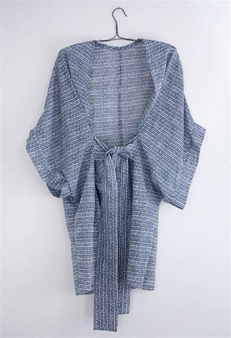 free pattern kimono robe diy almada robe by seamwork magazine sew diy