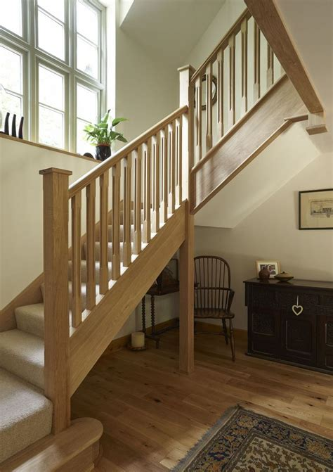 oak stair banister bedfordshire pearmain border oak oak framed houses