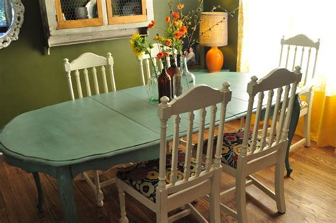 painted dining room table ideas items similar to sle ideas for custom painted dining