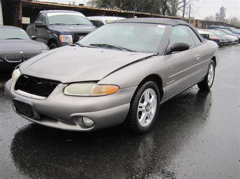 1999 Chrysler Sebring by 1999 Chrysler Sebring Jxi Jxi For Sale Stk R15985