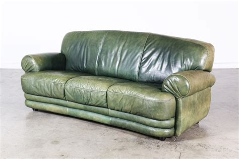 green vintage couch vintage green leather sofa vintage supply store
