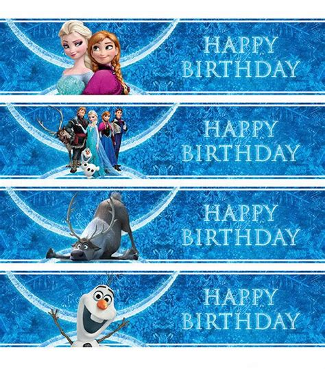 printable frozen labels free pics for gt free frozen water bottle printables