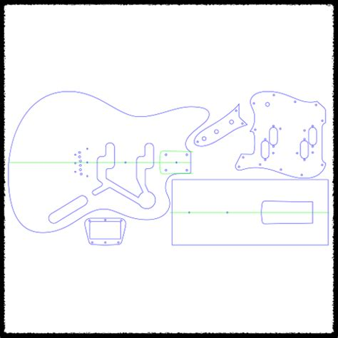 guitar routing template electric xii guitar routing templates faction guitars