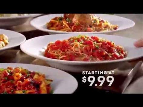 Olive Garden Commercial by Tv Commercial Spot Olive Garden Never Ending Pasta