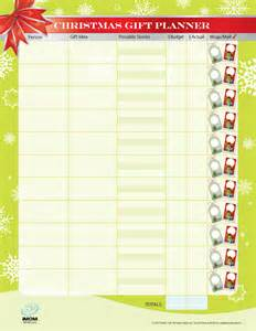 christmas gift list and budget tracker 24 7 moms