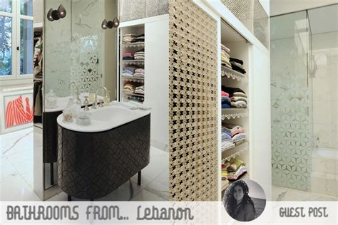 Il Bagno Lebanon lebanese bathrooms elements and interior trends