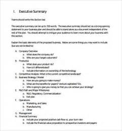 executive summary word template executive summary template 14 documents in pdf
